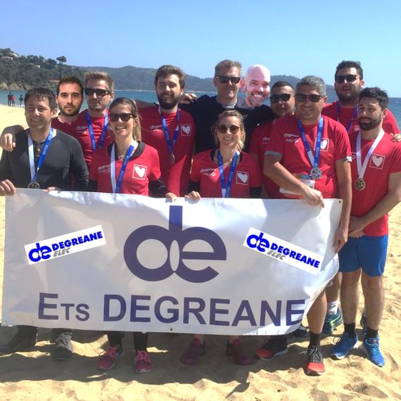 Marathon de Saint-Tropez en relais DEGREANE ELEC