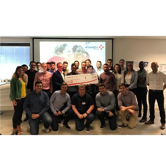 Hackathon valeurs VINCI Energies - rencontre pépinières du pôle VEFIMCE