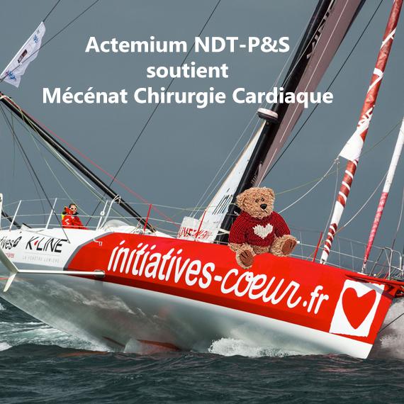 Mécénat chirurgie cardiaque / Virtual Regatta / NDT-P&S