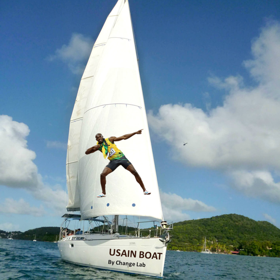 USAIN BOAT by Change Lab